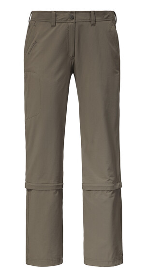 Schöffel Medina NOS Zip-off Pants short Women clay